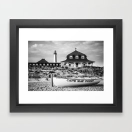 Cape May Point Framed Art Print