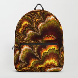 Turkey Feather Fractal Backpack