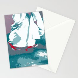 NY#12 Bride in Central Park (Lost Time) Stationery Cards