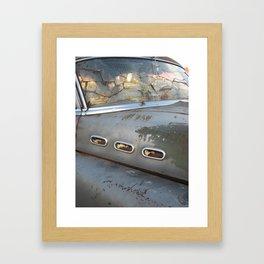 Buick Not So Super 8 Framed Art Print