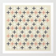 Midcentury Pattern 04 Art Print
