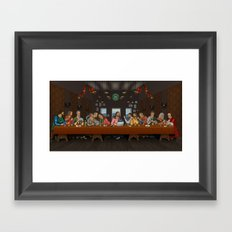 Just Another Supper Framed Art Print