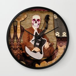 Guitar Reaper Wall Clock