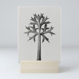 Eryngium Bourgatii (Mediterranean Sea Holly) leaves enlarged 5 times from Urformen der Kunst (1928) Mini Art Print
