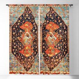 Bakshaish Antique Persian Carpet Print Blackout Curtain