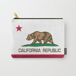 California Republic Flag, High Quality Image Carry-All Pouch
