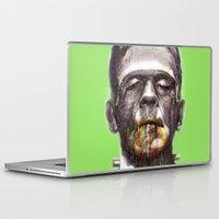 frankenstein Laptop & iPad Skins featuring Frankenstein by beart24