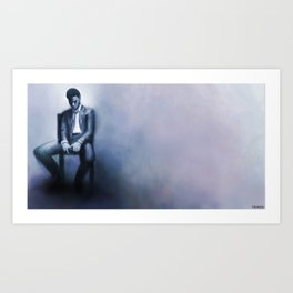 Trapped in my Mind  Art Print