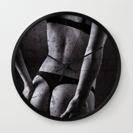 Distressed Lingerie Wall Clock