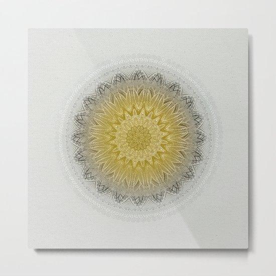 Mandala Love 2 Metal Print