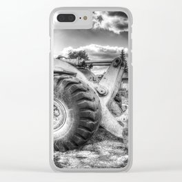 Bulldozer Machine from Earth Clear iPhone Case