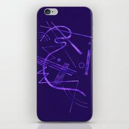 Kandinsky - Purple Abstract Art iPhone Skin