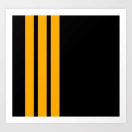 CoPilot Stripes Art Print