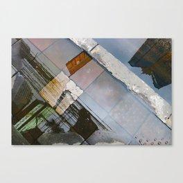 A look down Canvas Print
