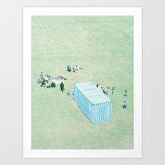 Public Viewing Art Print