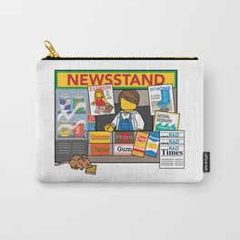 Newsstand Carry-All Pouch