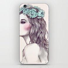 Les fleurs du mal iPhone & iPod Skin