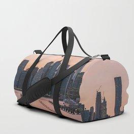 Sunset New York City Duffle Bag