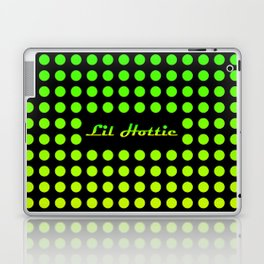 Lil Hottie Green/Yellow Laptop & iPad Skin
