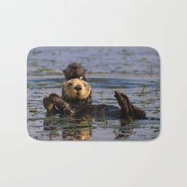 Sea Otter Bath Mat