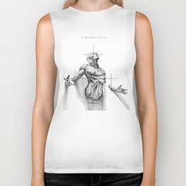 Wrought from Clay Biker Tank