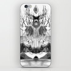 DEER KALEIDOSCOPE iPhone & iPod Skin