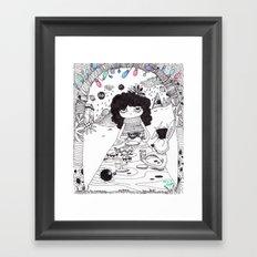 Tea time.....join us!! Framed Art Print