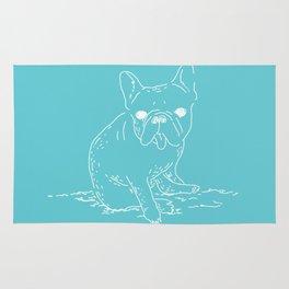 French Bulldog (mainichi) Rug