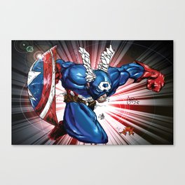 Captain.... Canvas Print