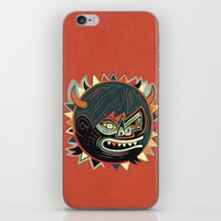 gorilla iPhone & iPod Skins featuring Gorilla by Exit Man