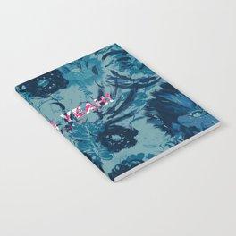 Spring Yeah! - Blue Flowers Notebook
