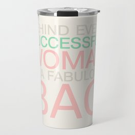 Successful woman Bag Travel Mug