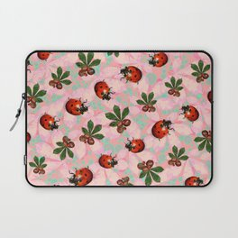 Chestnuts and Ladybirds. Laptop Sleeve