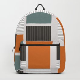 Mid Century Modern Panels Backpack