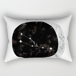 taurus, constellation, zodiac, starsign Rectangular Pillow