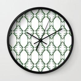 Modern Antler:  Kelly Green Wall Clock