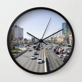 Las Vegas Overpass Wall Clock