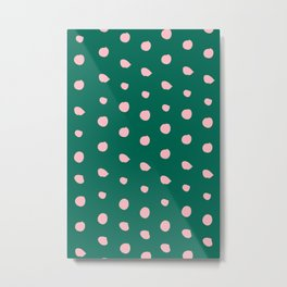 Spring Dots No 01 Metal Print
