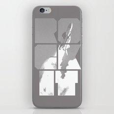 ROCKIT (White on Grey) iPhone & iPod Skin