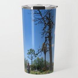 hiking men Travel Mug