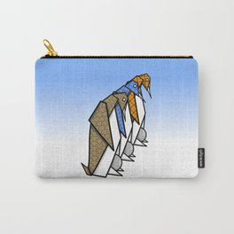 Origami Penguins Carry-All Pouch