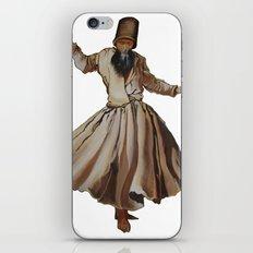 Whirling Dervish Conveys God's Spiritual Gift iPhone & iPod Skin