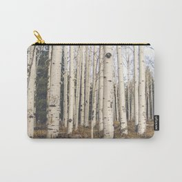 Trees of Reason - Birch Forest Carry-All Pouch