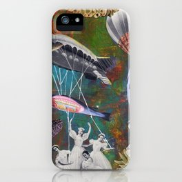 Underwater ballet iPhone Case
