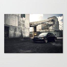 Mitsubishi Evo Canvas Print