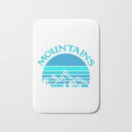 Mountains bt Bath Mat