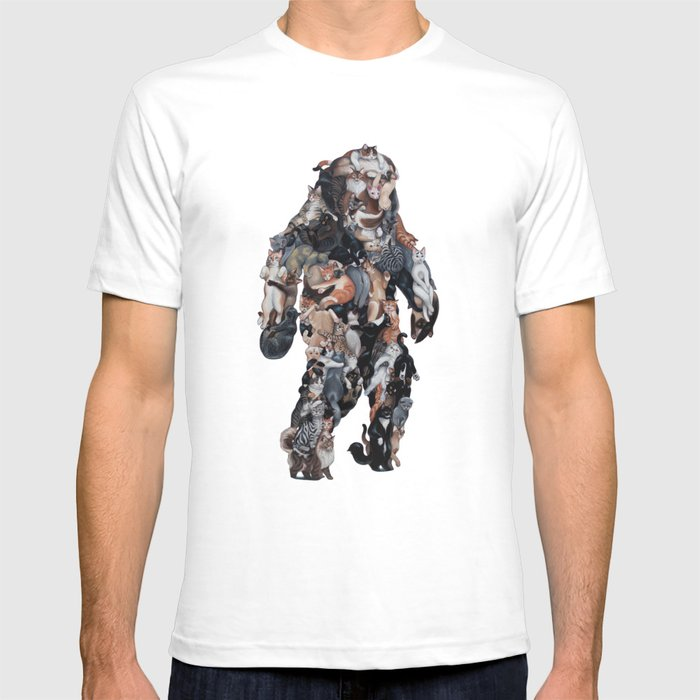 Catsquatch II T-shirt