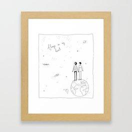 always in my heart 2 Framed Art Print