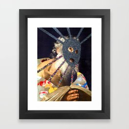 Composition 491 Framed Art Print