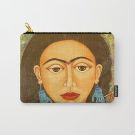My homage to Frida Carry-All Pouch